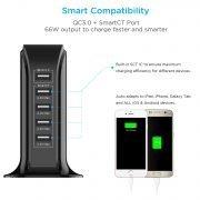 USB Charger 5 port Black SCT_1500x1500